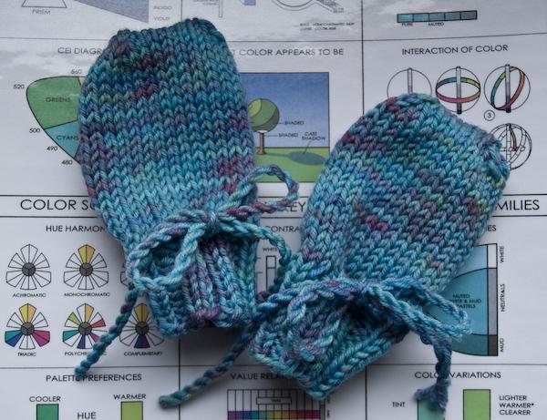 Blue Garter Patterns